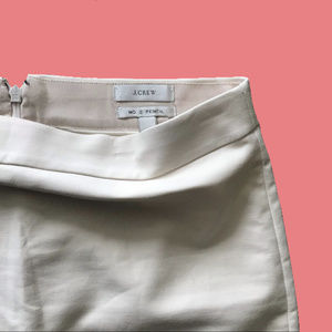 J. Crew - Beige No. 2 Pencil Skirt